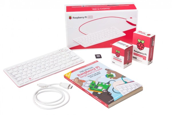 Raspberry Pi 400 All-in-One Personal Computer Kit – DE Keyboard Layout