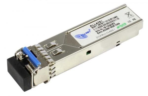 ALLNET Switch Modul ALL4761 SFP(Mini-GBIC), 1000Mbit, WDM(Bidi)/LC, Tx1310nm/Rx1490nm, 9u, 20Km,