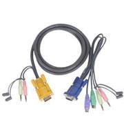 Aten Verbindungskabel SHDB,Audio, 3m 2L5303P, 4in1(VGA,Ta