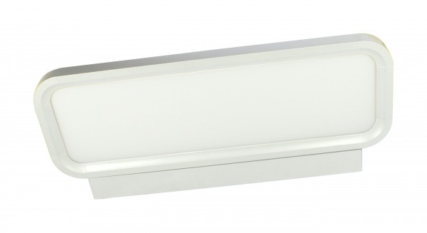 Synergy 21 LED office line Wand - Panel weiss, dimmbar