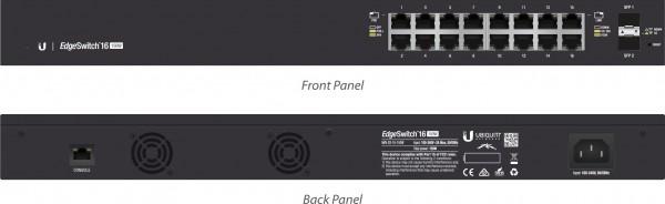 Ubiquiti EdgeSwitch 16, 150W, 16 Gigabit RJ45 Ports, 2 SFP P