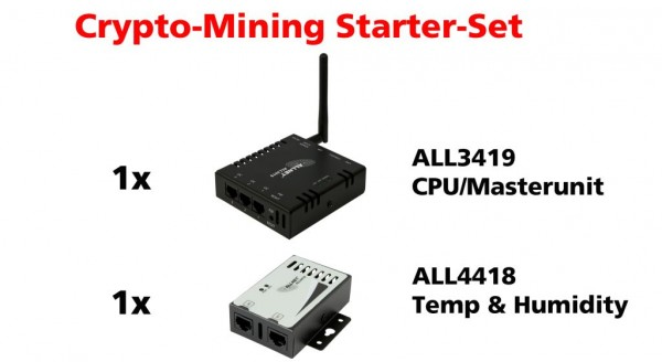 ALLNET MSR ALL3419 Mining-Bitmain-Surveillance-Starter-Kit