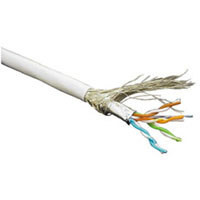 Kabel 100MHz, CAT5E, S-FTP(SF/UTP), Verlege, Hal, 500m Trom