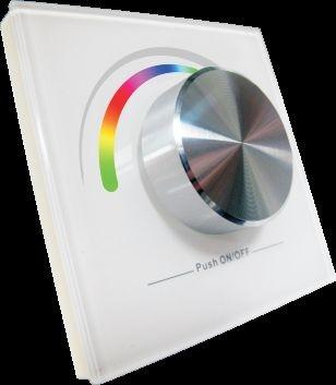 Synergy 21 LED Controller EOS 05 Wanddimmer Dreh-Dim RGB