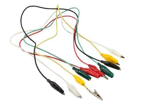 Synergy 21 Mini Krokodilklemmenset kabelverbunden mit Schutz