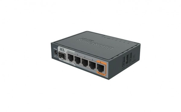 MikroTik RouterBOARD RB760iGS, hEX S, 5x Gigabit, 1x SFP, US