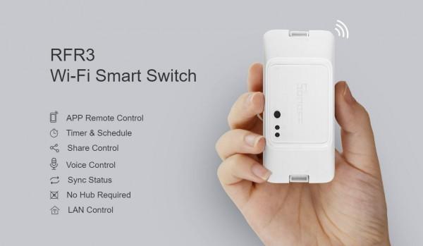 Sonoff WiFi Smart Switch RFR3