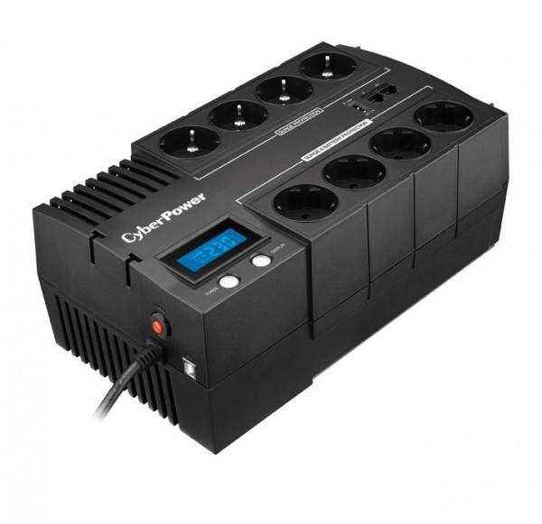 CyberPower USV, BRICs-Serie, Line-Interactive, 1000VA/600W, LCD, USB, 3min,