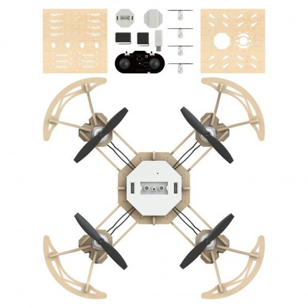 Airwood Ninja Holz Drohne / Wooden Drone Kit