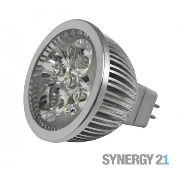 Synergy 21 LED Retrofit GX5,3 4x1W ww V2 dimmbar
