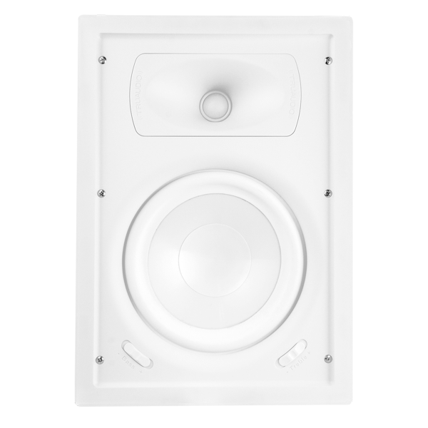 Soundvision TruAudio Ghost Serie 2-Wege Einbaulautsprecher / GPW-8
