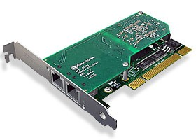 Sangoma 2xPRI/E1 PCIx Karte A102D mit Echounterdrückung