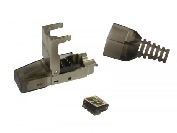 TP-Stecker TP, Feldkonfektionierbar, CAT6A, RJ45, Werkzeuglos, Synergy 21,