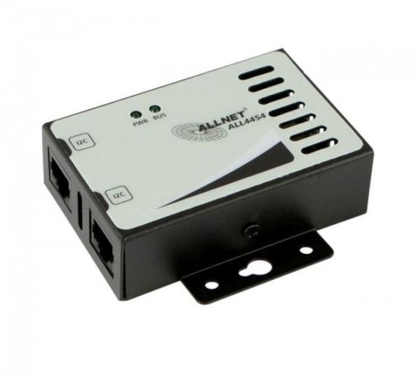 ALLNET ALL4454 / Rauchmelder/Gas-Sensor im Gehäuse *black*