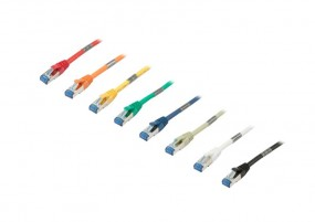 Patchkabel RJ45, CAT6A 500Mhz, 2m, gelb, S-STP(S/FTP),AWG27, Synergy 21
