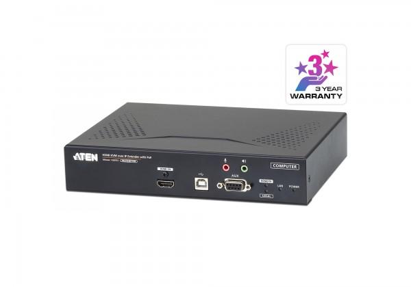 Aten KVM-Switch, 4K HDMI Einzeldisplay KVM over IP with PoE Sender