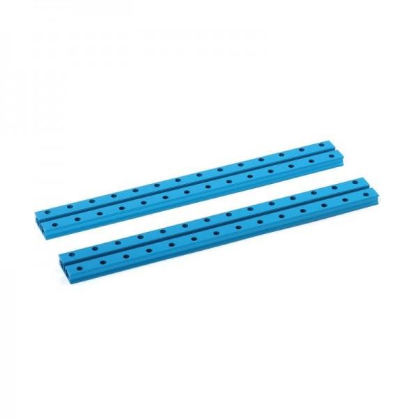 """Makeblock """"Slide Beam 0824-224 Blue (Pair)"""" / 2x Gleitschiene 0824-224 für MINT Roboter"""