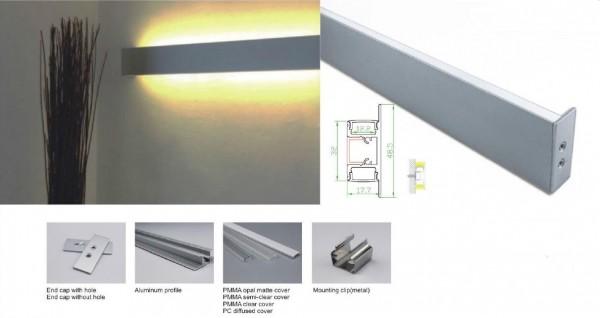 Synergy 21 LED U-Profil 200cm, ALU050