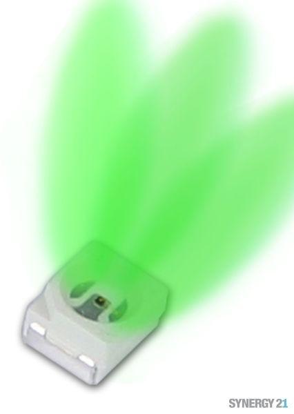 Synergy 21 LED SMD PLCC2 3528 grün 1000-1300mcd