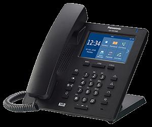 Panasonic KX-HDV340 SIP Terminal (schwarz)
