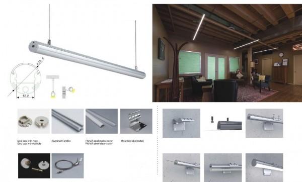 Synergy 21 LED U-Profil 200cm, ALU008