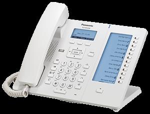 Panasonic KX-HDV230 Business SIP Terminal (weiss)