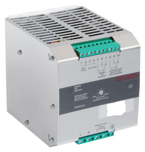 Effekta USV, AC/DC, 48V/ 5A/240W Hutschiene(DIN Rail), ohne Akku, DCH 4805 AS