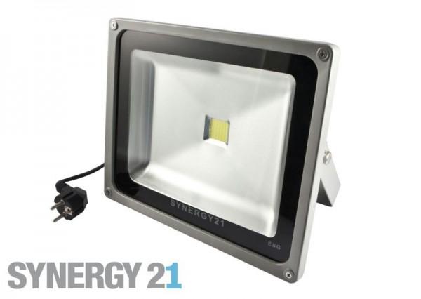 Synergy 21 LED Spot Outdoor Baustrahler 30W schwarzes Gehäuse - neutralweiß V2