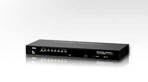 Aten KVM-Switch 8-fach VGA/Maus/Tastat., CS-128A, EB849A,