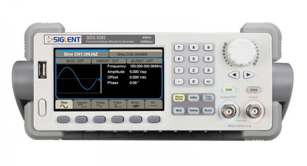 Siglent SDG5082 / 2-Kanal, 40MHz Signalgenerator, 500MSa/s