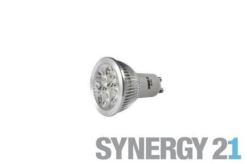 Synergy 21 LED Retrofit GU10 4x1W amber/orange