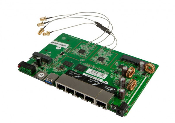 ALLNET ALL-WR1200AC-WRT - PCB ONLY / Wireless AC Dual-Band Router mit OpenWRT Firmware / kompatibel