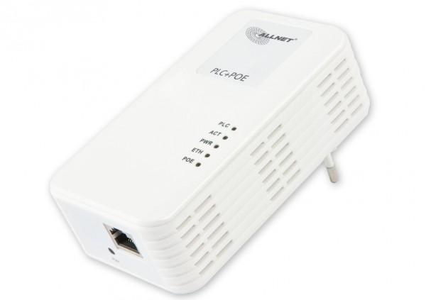 ALLNET Schweiz Powerline 500Mbit Powerline Bridge Homeplug AV mit PoE IEEE802.3at 30W ALL1682504