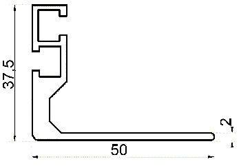 Knürr Schrank gzub.L-Schiene, T 900, L=636mm, Paarweise,