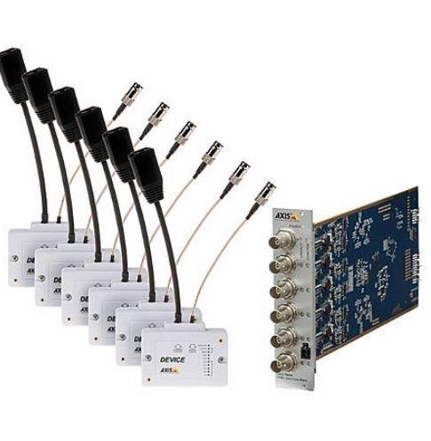 AXIS Netzwerk PoE T8648 Kit Ethernet over Coax + PoE Kompakt-Kit