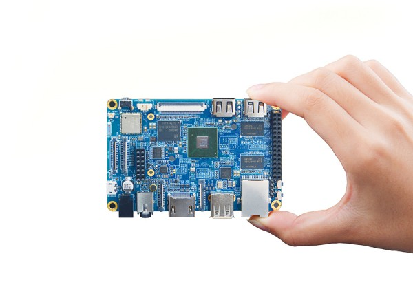 FriendlyELEC NanoPc-T3 Plus - 2GB/16GB OctaCore A53 64-bit ARM Board