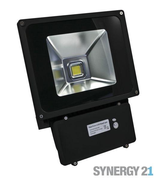 Synergy 21 LED Outdoor Objektstrahler 80W schwarzes Gehäuse - neutralweiß V2