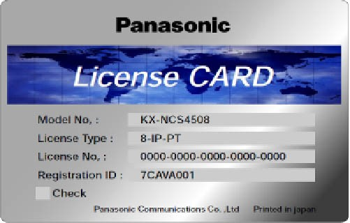 Panasonic KX-NCS 3208WJ 8 IP-SYSTEL / 8 IP-SOFTPHONE