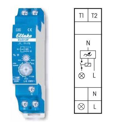 Eltako EUD12F Universal-Dimmschalter für Feldfreischaltung