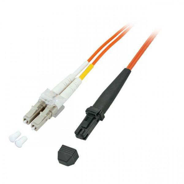 LWL-2-Faser-Patchkabel 5mtr.LC-MTRJ,50uO0730.5, konfektionie