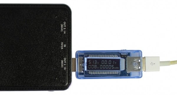 ALLNET USB OLED Powermeter/Voltmeter ALL-USB-PM2
