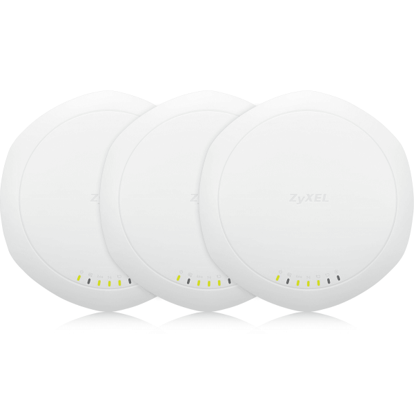 Zyxel NWA1123-AC Pro - Dual optimised 802.11ac 3x3 Standalone AP Triple pack (excludes passive PoE injector)