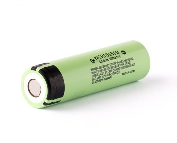 ALLNET Powerbank 18650 zbh. Panasonic NCR18650B 3,6V - 3,7V 3400mAh Li-Ionen Akku/Battery