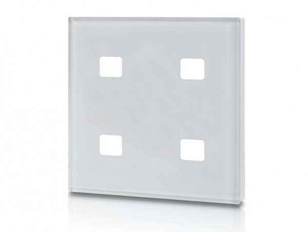 Synergy 21 LED Controller EOS 08 KNX Taster Glas-A 4-fach