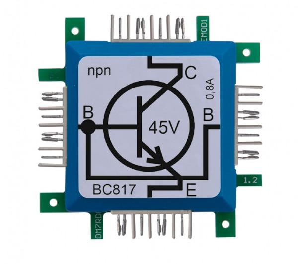 ALLNET Brick'R'knowledge Transistor npn BC817 mit Basis auf beiden Seiten