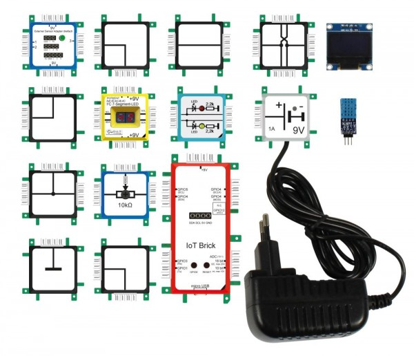 ALLNET Brick'R'knowledge Internet of Things Set IoT
