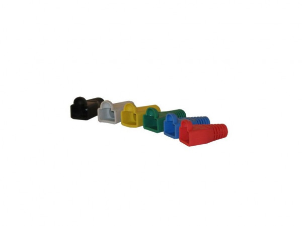 TP-Stecker TP, S-UTP, zbh.Tülle, Black SR-V11/BKA, 100-Pack