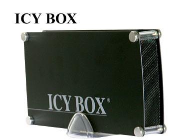"ICY Box Gehäuse, ext.SATA, IDE 3, 5""/USB, Black, IB-351AStU-B"