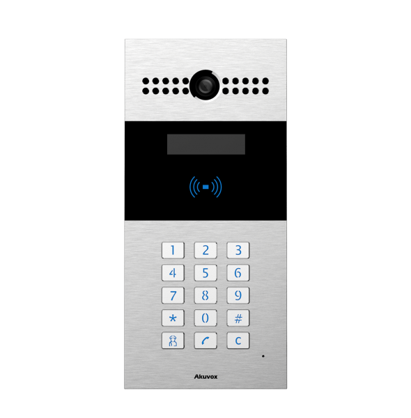 Akuvox TFE R27A IP Door SIP Intercom with Keypad (Video & Card reader)
