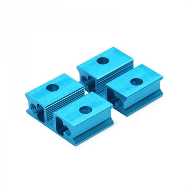 """Makeblock """"Slide Beam 0824-016 Blue (Pair)"""" / 2x Gleitschiene 0824-016 für MINT Roboter"""